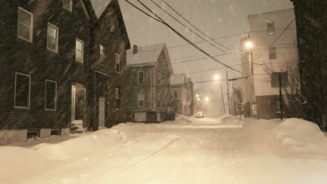 winter in portland, maine - maine stock videos & royalty-free footage
