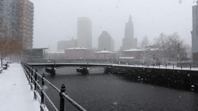 冬プロビデンス ロードアイランド州