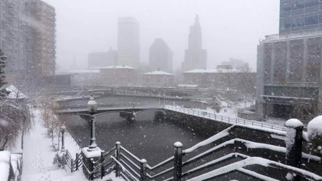Winter in Providence Rhode Island