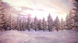 Winter Landscape | Christmas