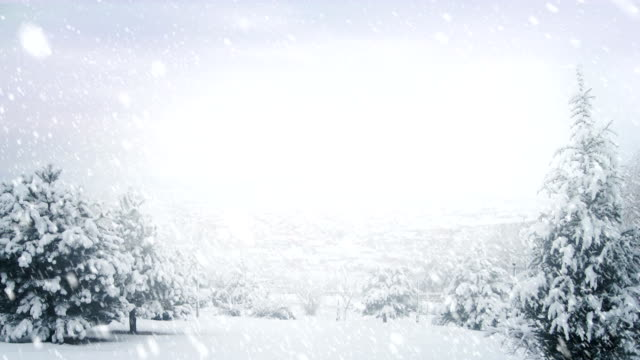 winter landscape | loopable - frost stock videos & royalty-free footage