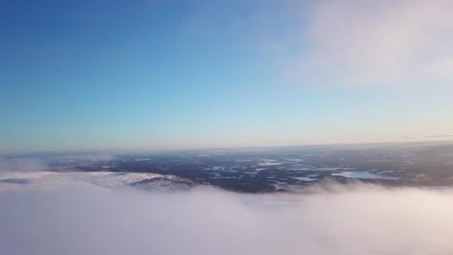 winterlandschaft skifahren - schweden stock-videos und b-roll-filmmaterial