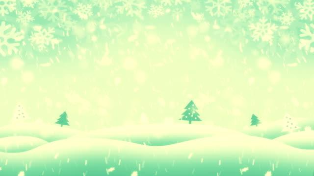 4k winterlandschaft - schneeverwehung stock-videos und b-roll-filmmaterial