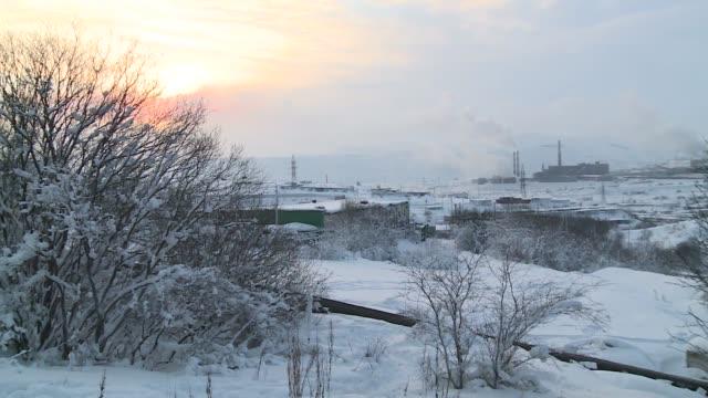 winter landscape - winter点の映像素材/bロール