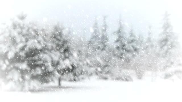 vídeos de stock, filmes e b-roll de paisagem de inverno - snow cornice