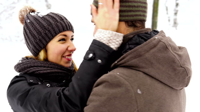 stockvideo's en b-roll-footage met winter liefde - bevroren
