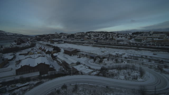 Winter morning at Narvik