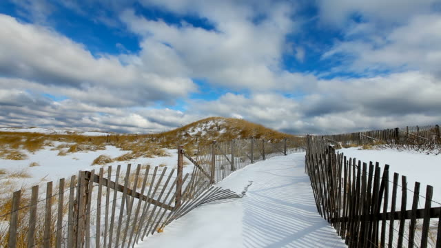 winter on cape cod - massachusetts stock videos and b-roll footage