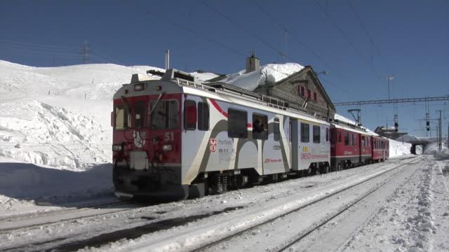 Winter on the Bernina Railway
