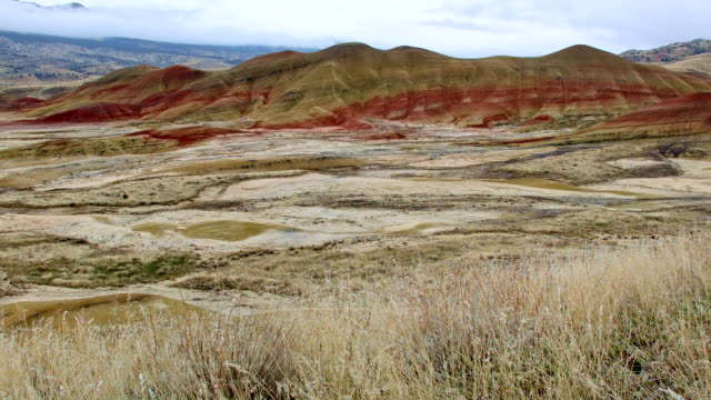 winter painted hills oregon 9 - 荒野点の映像素材/bロール