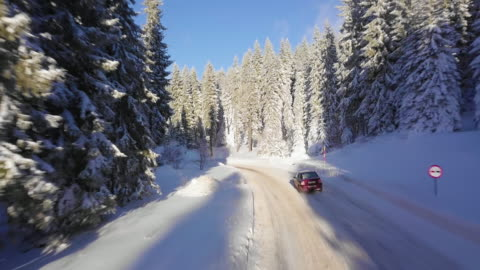 winter road - winter stock videos & royalty-free footage