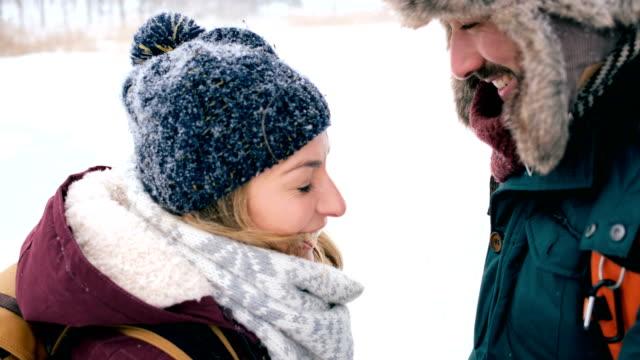 Winter romance 4K