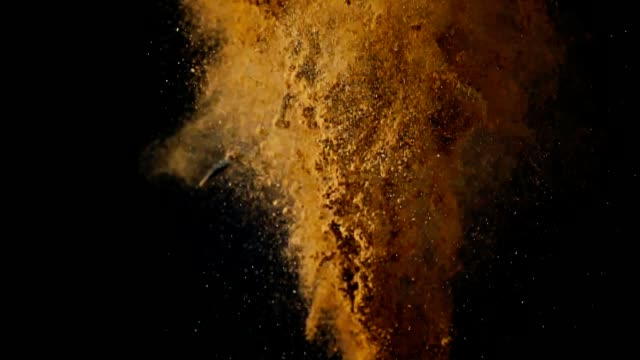 winter spice mix food explosion - exploding stock videos & royalty-free footage