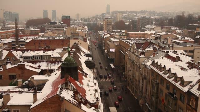Winter time in Sarajevo