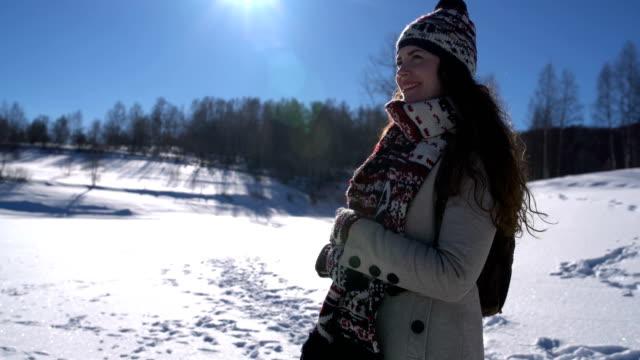vidéos et rushes de winterland - châle