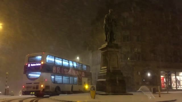 Wintry weather has struck Scotland as the Met Office issued warnings for snow and ice