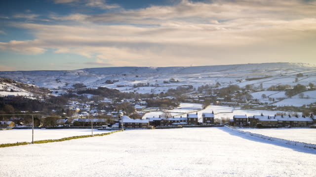 Wintry Yorkshire Village - T/L