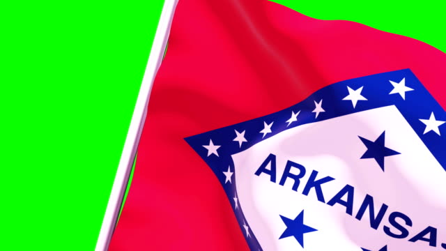 wipe transition flag of arkansas 4k 60 fps - cut video transition stock videos & royalty-free footage