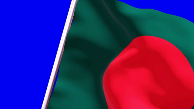 wipe transition flag of bangladesh 4k 60 fps - flag of bangladesh stock videos & royalty-free footage