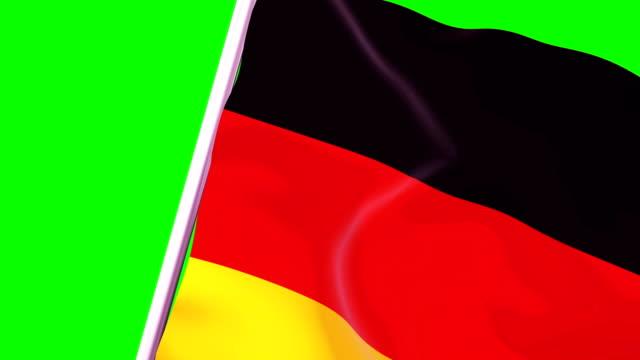 wipe übergangsflagge von deutschland 4k 60 fps - independence stock-videos und b-roll-filmmaterial