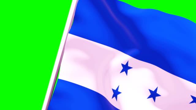 wipe transition flag of honduras 4k 60 fps - cut video transition stock videos & royalty-free footage