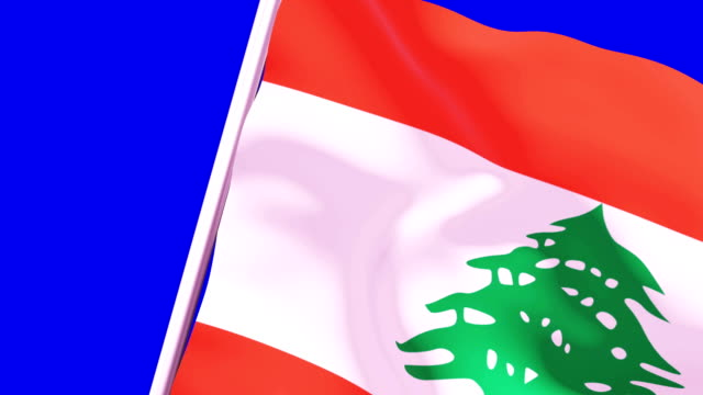 wipe transition flag of lebanon 4k 60 fps - lebanon country stock videos & royalty-free footage