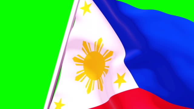 wipe transition flag of philippines 4k 60 fps - philippines flag stock videos & royalty-free footage
