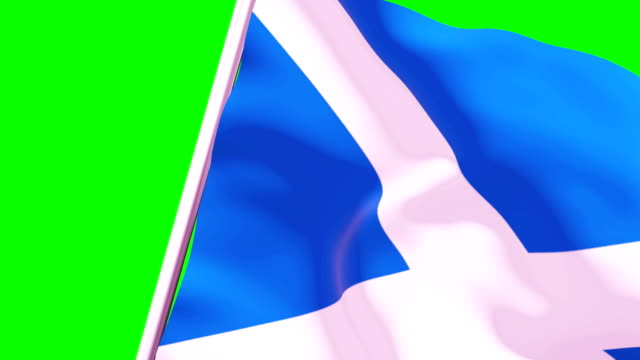 wipe transition flag of scotland 4k 60 fps - identity politics stock videos & royalty-free footage