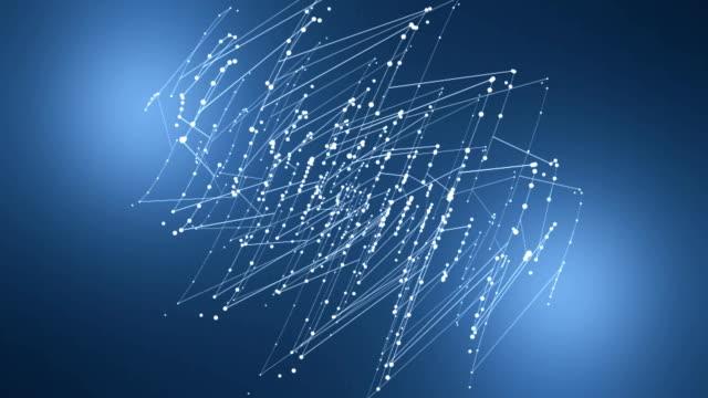 Wire Mesh, Digital Communication Concept.