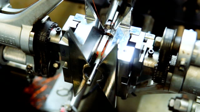 wire winding machine - magnetism stock videos & royalty-free footage