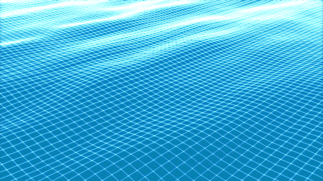 wireframe wave of loop animation - crisscross stock videos & royalty-free footage