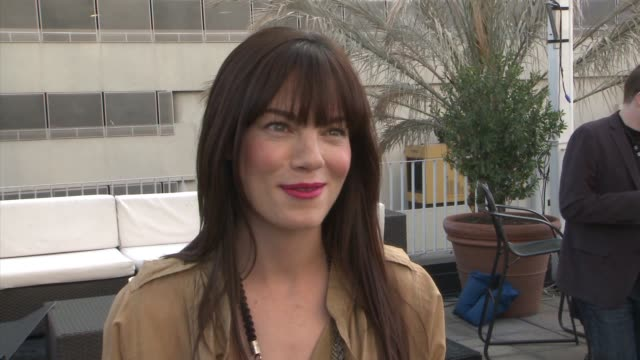 wireimage daily 3/15/11 spanish version - michelle monaghan stock videos & royalty-free footage