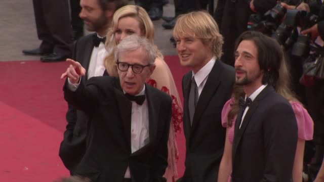wireimage daily 5/12/11 spanish version - woody allen stock videos & royalty-free footage