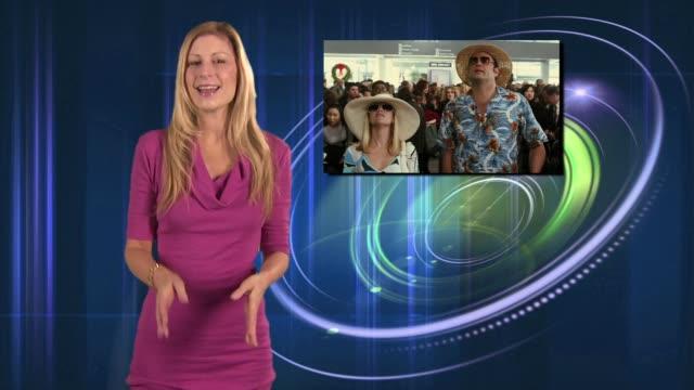 wireimage entertainment report: 11/21/08 - スチュワート タウンゼント点の映像素材/bロール
