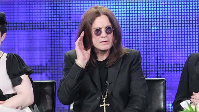 1/14/09 - ozzy osbourne stock videos & royalty-free footage