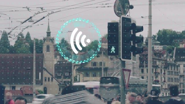 Wireless-Technologie-Konzept, die Arbeit miteinander zu verbinden