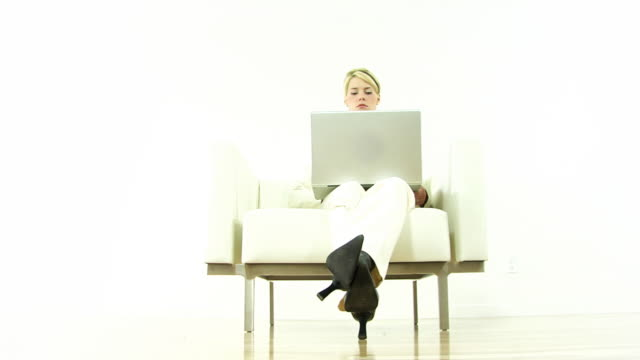 wireless time .. - surfing the net stock videos & royalty-free footage