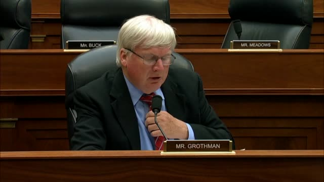 wisconsin congressman glenn grothman says at a joint house hearing that fbi deputy assistant director peter strzok had referred to loudoun county... - msnbc stock videos & royalty-free footage