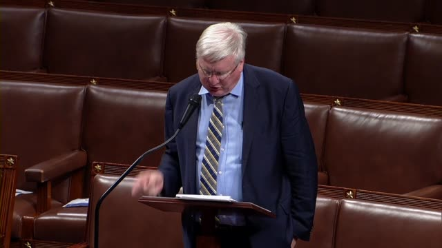 vidéos et rushes de wisconsin congressman glenn grothman says in floor debate on the george floyd justice in policing act that hopefully local governments could do... - human castration