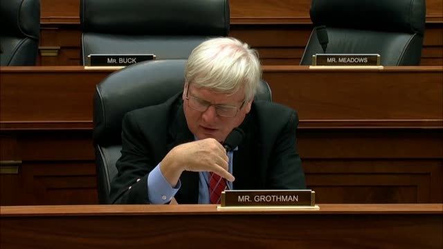 wisconsin congressman glenn grothman tells fbi deputy assistant director peter strzok at a house hearing on a text message referring to hillbillies... - organised group stock videos & royalty-free footage