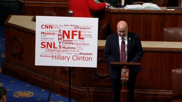 wisconsin congressman mark pocan says the nation has a lot on its plate from infrastructure to hurricane relief in texas florida puerto rico and the... - fake stock videos & royalty-free footage
