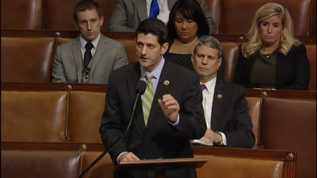Wisconsin Congressman Paul Ryan opens debate for his party on whether to reauthorize the ExportImport Bank compares what he calls croney capitalism...