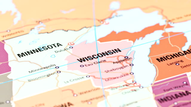 wisconsin from usa states - midwest usa stock videos & royalty-free footage
