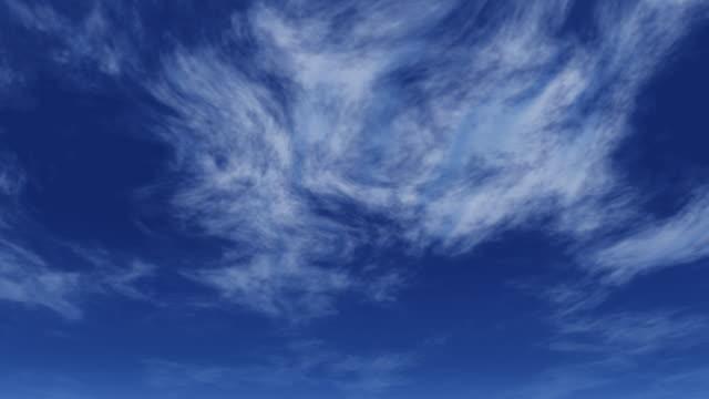 wispy clouds - wispy stock videos & royalty-free footage