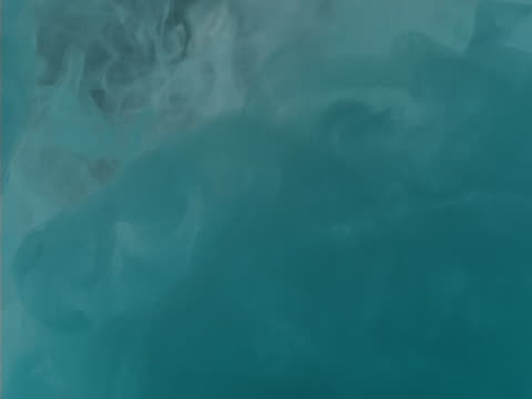 wispy vapors in shades of aqua blue - wispy stock videos & royalty-free footage
