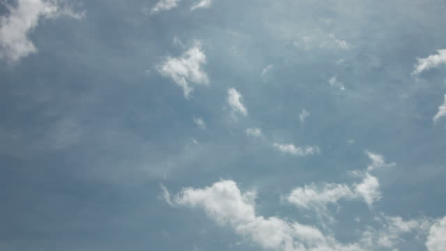wispy white clouds - wispy stock videos & royalty-free footage