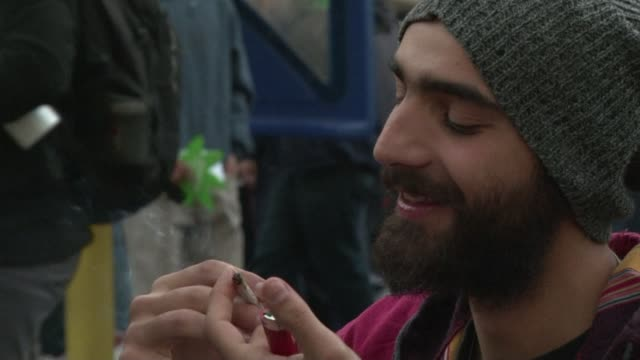 With a joint in hand thousands of Uruguayans marched in favor of regulating the domestic marijuana cultivation in a year in which the Uruguayan...
