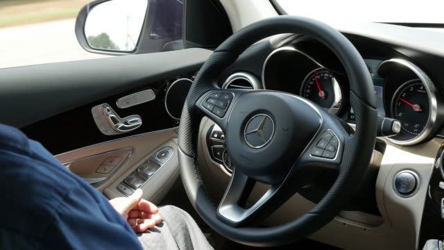 GLC with a lot of safety features installed It beeps at 10 seconds when you are hands free while it beeps at 60 seconds for E class