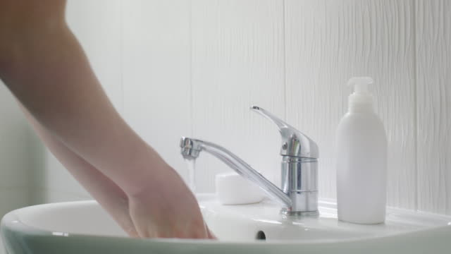 with all the germs around, wash your hands - soap sud stock videos & royalty-free footage