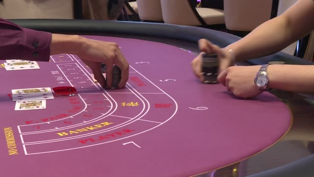 with casino revenues in macau in freefall due to beijings anti corruption crackdown and a slowing chinese economy the gambling hub is hoping to... - gambling stock videos and b-roll footage